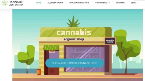 Acquisto on line di cannabis light